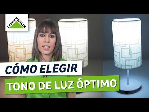Cómo elegir el tono de luz (Leroy Merlin)