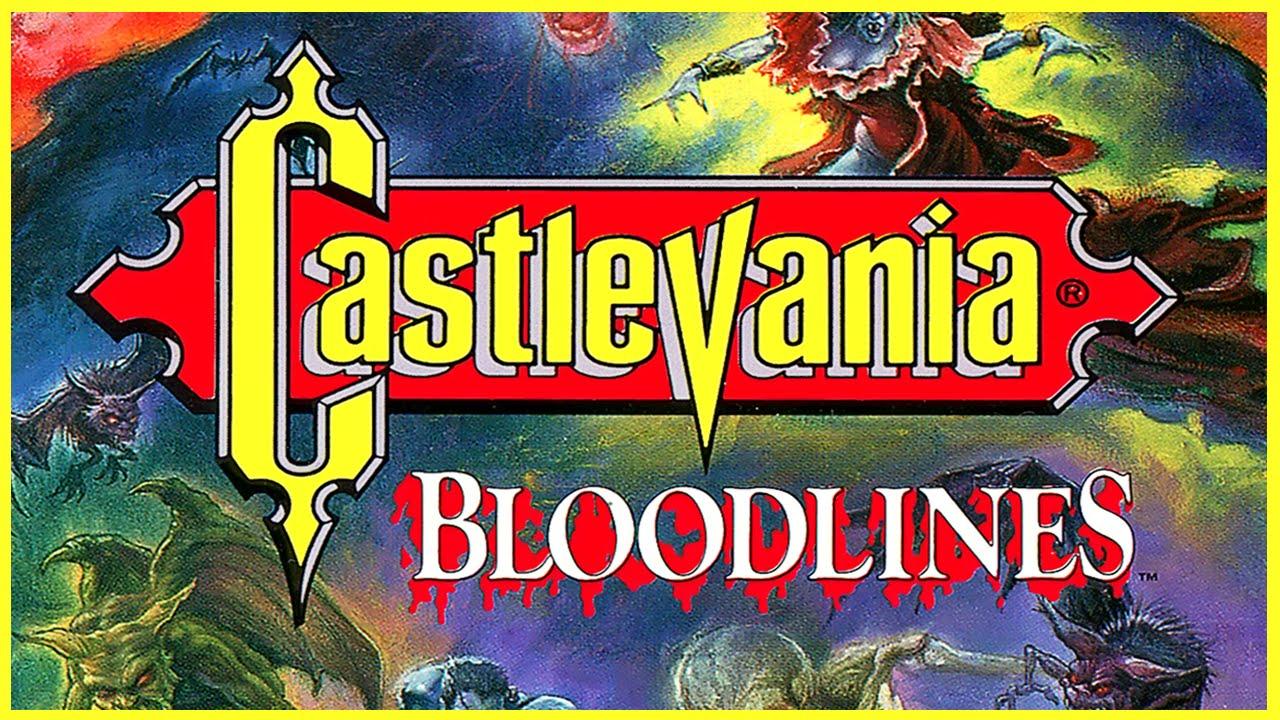 Resultado de imagen para castlevania bloodlines