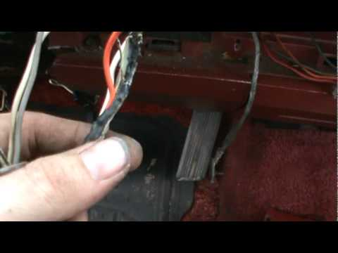 dodge d150 wiring harness dodge image wiring diagram repair burned wiring in 1984 dodge d150 part 2 on dodge d150 wiring harness
