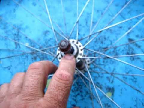 Как правильно собрать втулку переднего колеса старого велосипеда