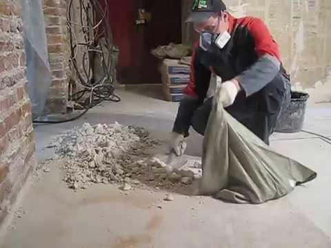 Удобная и быстрая уборка строительного мусора.
