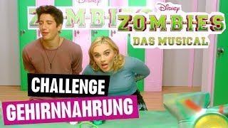 ZOMBIES - DAS MUSICAL // Die Zombies-Challenge: Gehirnnahrung | Disney Channel