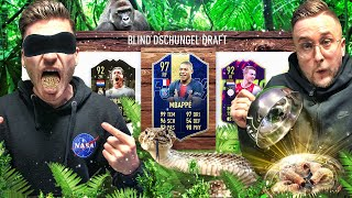 Dschungelcamp BLIND DRAFT mit MEHLWÜRMER Bestrafung !! FIFA 19