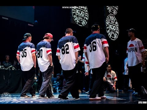 Japan vs Korea - Popping - KOD Street Dance World Cup 2016
