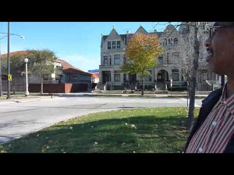 Tour of Chicago neighborhoods North Kenwood and Bronzeville