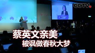 蔡英文亲美被讽做春秋大梦 20201210  《海峡两岸》CCTV中文国际 - YouTube
