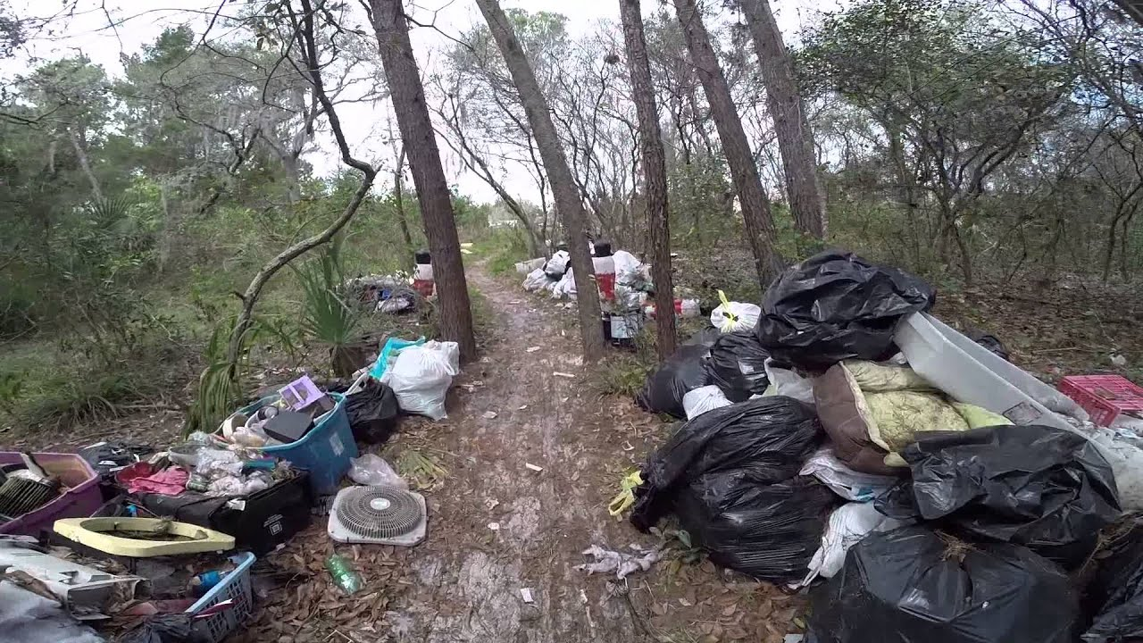 Homeless in Titusville, Florida - YouTube