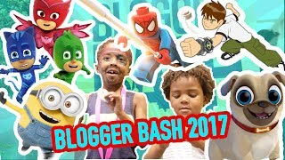LEGOS MARVEL SUPER HEROES 2 WITH PJ MASK BEN 10 MINIONS & PUPPY DOG PALS AT BLOGGER BASH