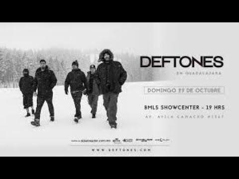 DEFTONES en vivo GUADALAJARA 2017