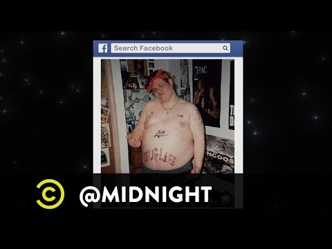 Natasha Leggero, Sarah Tiana, Jeff Ross - Thug Life Rap Sheet - @midnight with Chris Hardwick