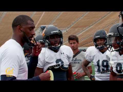 Cal Football Fall Camp 2017: WR Coach Nick Edwards Mic