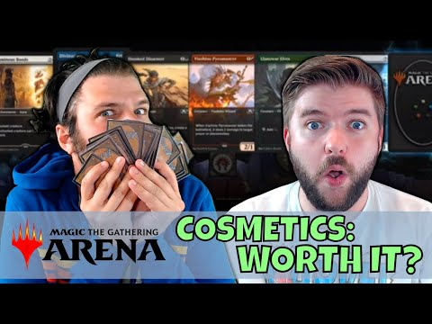 ARE ARENA COSMETICS WORTH YOUR TIME & MONEY? | Arena MTG Fin