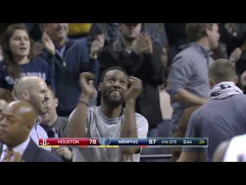 Houston Rockets vs Memphis Grizzlies | December 23, 2016 | NBA 2016-17 Season