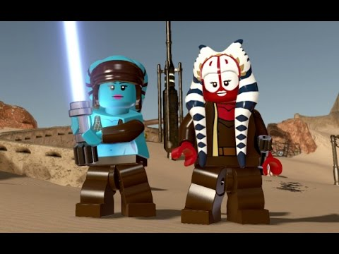 LEGO Star Wars: The Force Awakens - Jedi DLC Pack - All Characters ...
