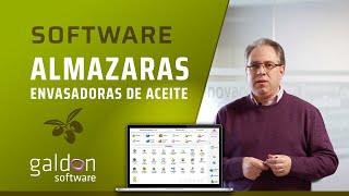 ERP ALMAZARAS Y ENVASADORAS DE ACEITE 🚜 - GALDÓN SOFTWARE