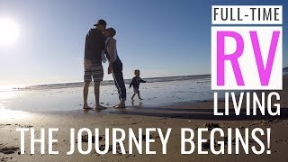 Our FIRST WEEK of FULLTIME RV TRAVEL - FAMILY OF 6!!