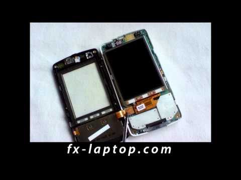 Disassembly Sony Ericsson W960i - Battery Glass Screen Replacement