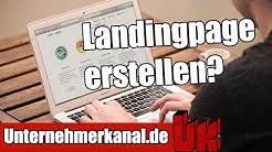 Landing Pages erstellen? Clickfunnels Tutorial auf Deutsch für Anfänger!