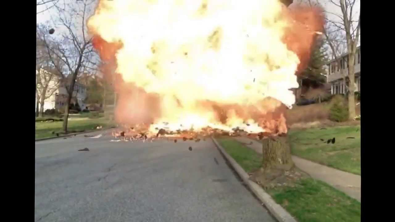 How To Start A Prius >> Prius explosion - YouTube