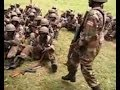 Ugandan UPDF Soldiers Perform Song and Dance