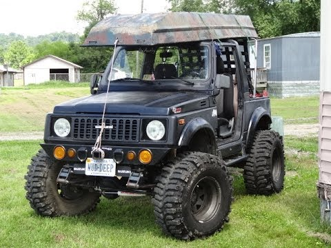 Suzuki Samurai Monster
