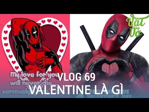 Vlog69| Ngày 14-2 Valentine là gì? con gái phải tặng quà con trai mới đúng?