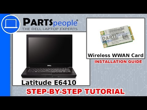Dell Latitude E6410 Wireless WWAN Card How-To Video Tutorial - YouTube