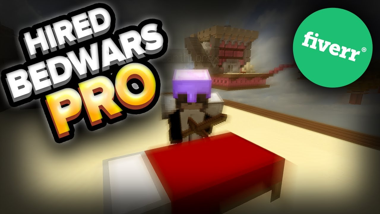 I Hired A PRO To Teach Me how to play BedWars (He Hackusated Me!)