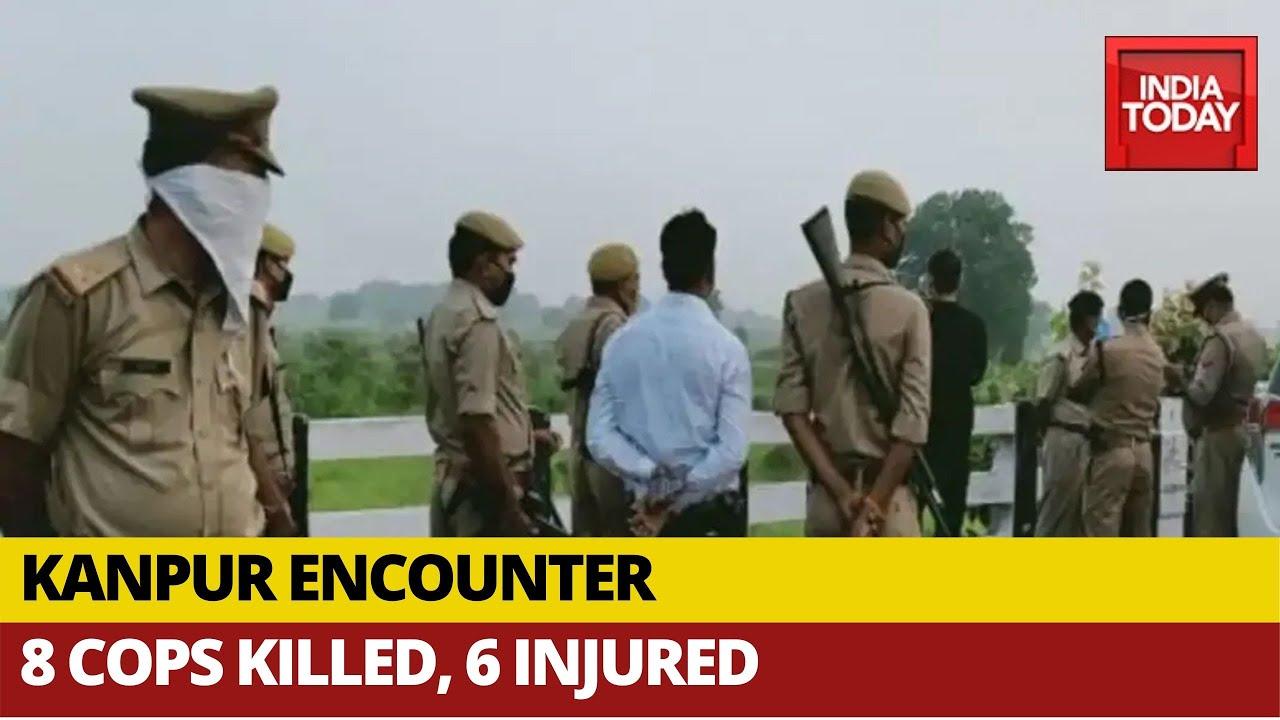 Download Kanpur Encounter: 8 Cops Killed, 6 Injured In Raid At Notorius History-Sheeter Vikas Dubey's House
