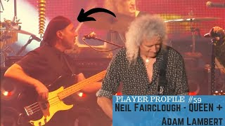 Neil Fairclough // QUEEN + Adam Lambert  - Player Profile Ep.59