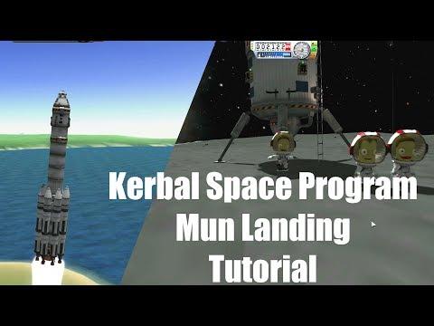 Kerbal Space Program - Mun Landing Tutorial 04