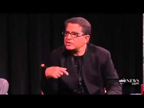 Deepak Chopra destroyed by himself