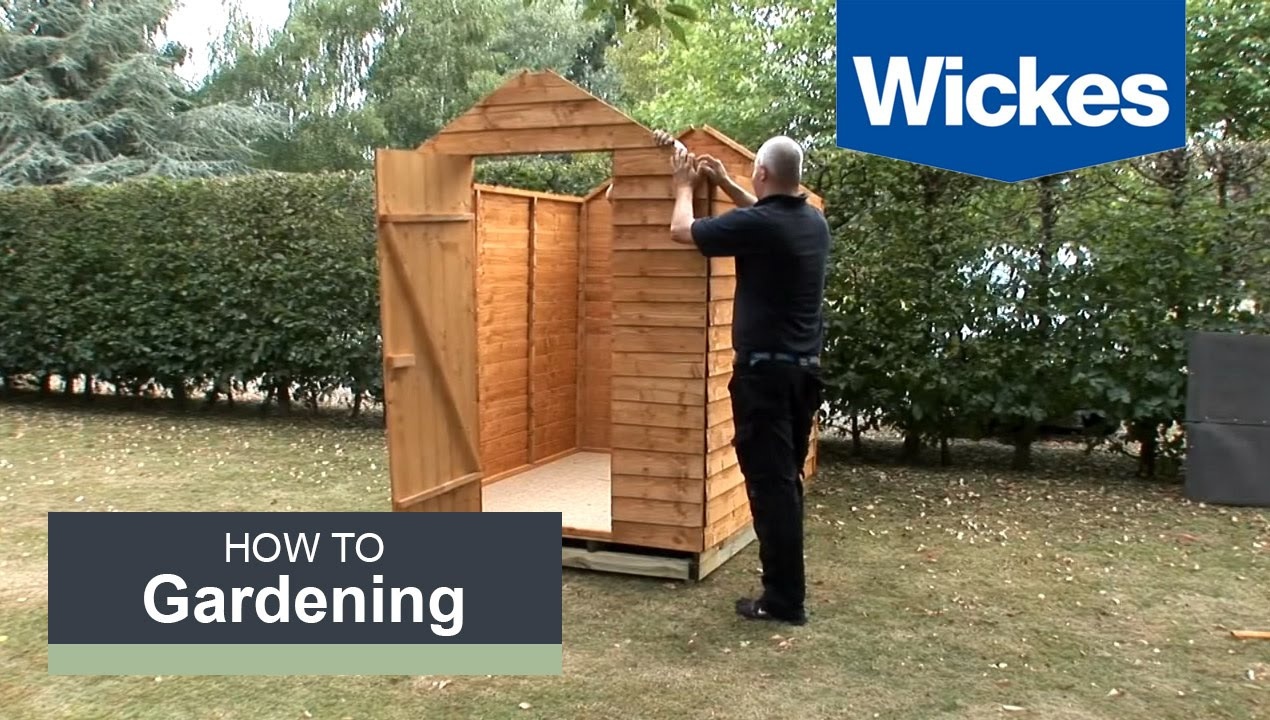 Fantastic How to build a garden shed onto a wooden shed base with Wickes  WS89