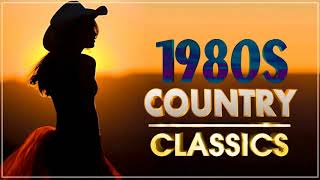 Best Classic Country Songs Of 1980s | Greatest 80s Country Music | 80s Best Songs Country Classics