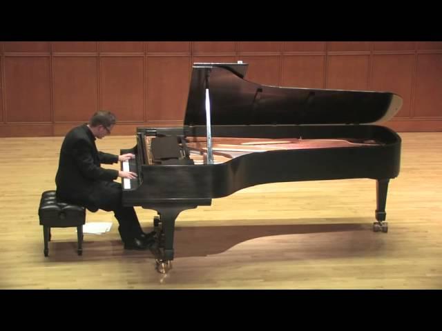 Mitch's Piano Recital