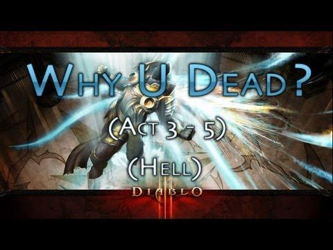 Diablo III - Hell - Act 3-5 Azmodan - Witch Doctor