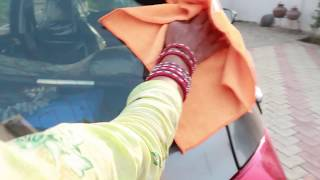 Best car cleaning Microfiber cloth unboxing with Giveaway