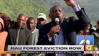 Mau eviction splits Jubilee