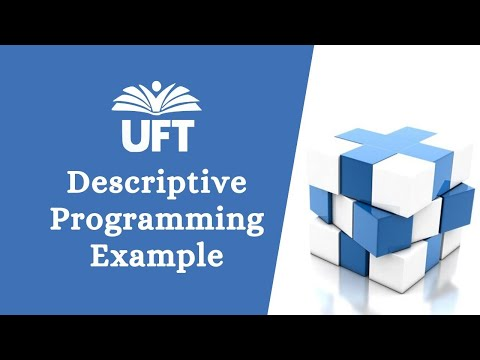 Descriptive programming in qtp with syntax: part 1 xx.