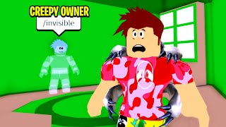 ADMIN Was WATCHING GUESTS.. I Caught Him In My Home! (Roblox)