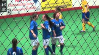 2013 Edmonton Mini World Cup (Womens) / Italy (4) vs Ukraine (2)  Italy Goal By #14