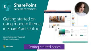 getting started on using modern themes in SharePoint Online