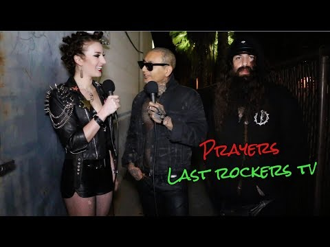 PRAYERS talk KAT VON D, TRAVIS BARKER + NEW ALBUM w/Erin Micklow for Last Rockers TV