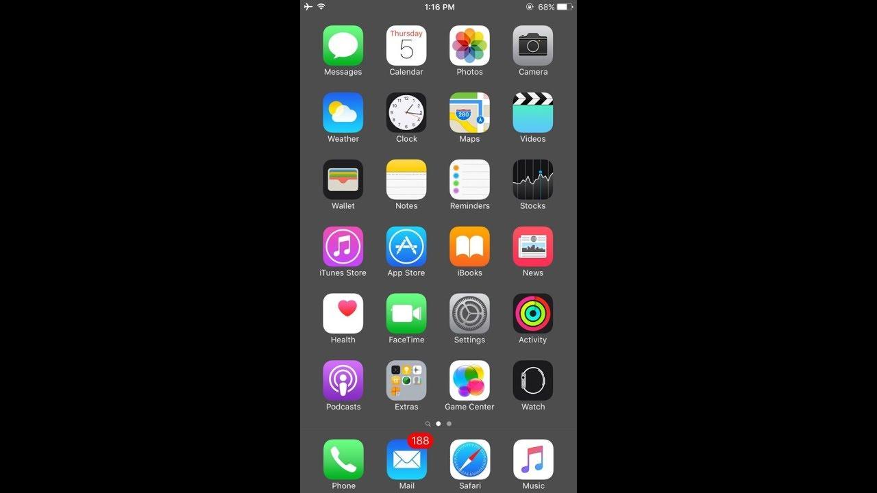 Wallpaper iphone hide dock - Hide Dock In Ios 11