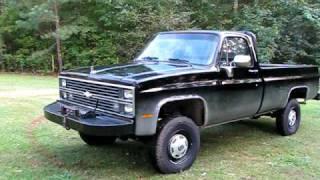 1984 Chevrolet Silverado dump truck