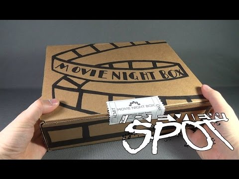 Subscription Spot - Movie Night Box Subscription Box OPENING!