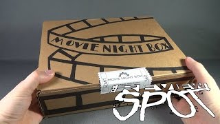 Subscription Spot - Movie Night Box Subscription Box OPENING! thumbnail