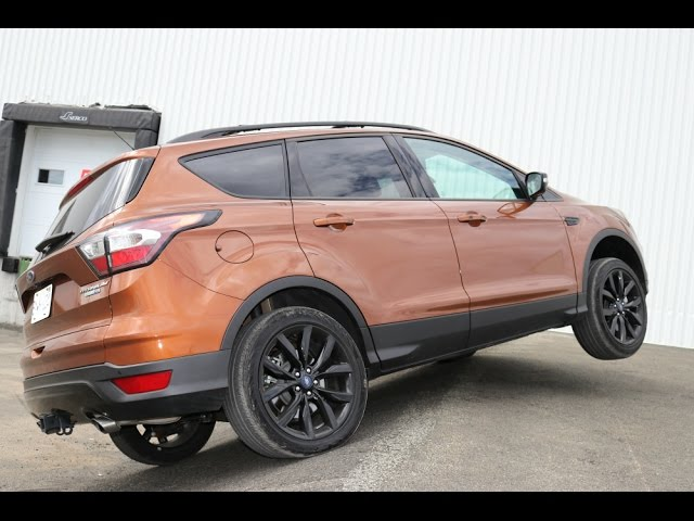 4wd Awd Diagonal And Offroad Test 2017 Ford Escape The Most