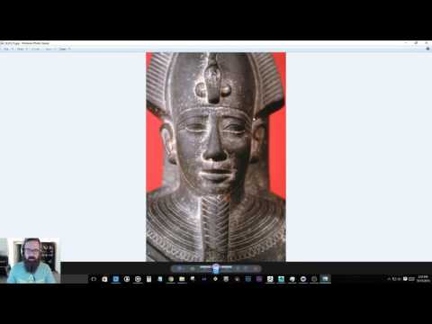 Dig-It! Stream - Sculpting an Egyptian Artifact in Zbrush