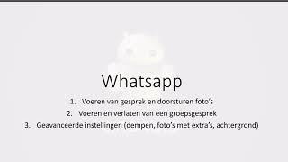 0. WhatsApp op Android: Wat is WhatsApp, Hoe werkt WhatsApp, groepsgesprekken met Whatsapp
